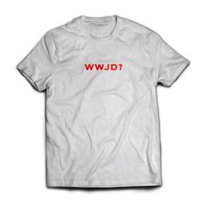 WWJD? Tee (White)
